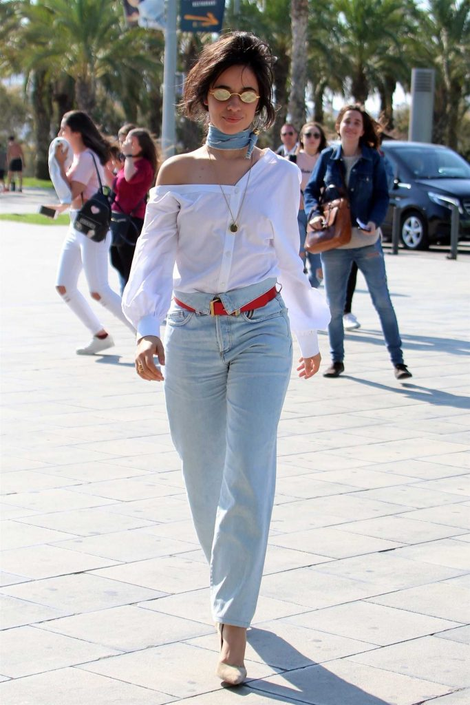 Camila Cabello Was Seen Out in Barcelona-1