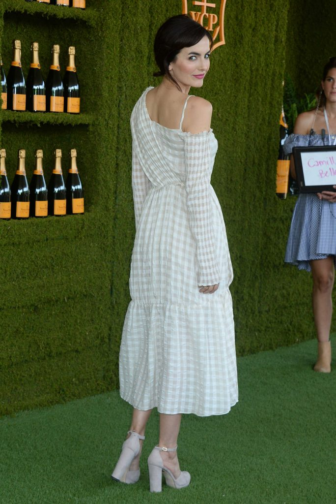Camilla Belle at the Veuve Cliquot Polo Classic in LA-2