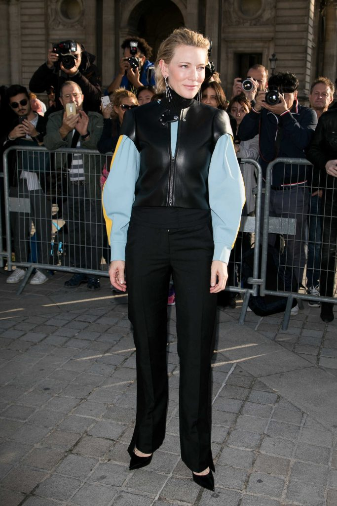 Cate Blanchett at the Louis Vuitton Show During Paris Fashion Week-4