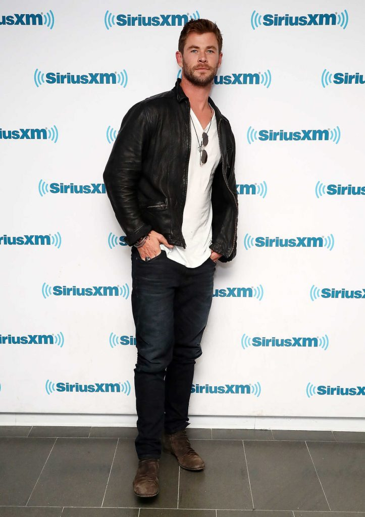 Chris Hemsworth at SiriusXM EW Spotlight in New York City-1
