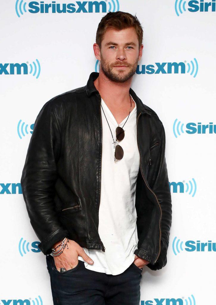 Chris Hemsworth at SiriusXM EW Spotlight in New York City-2