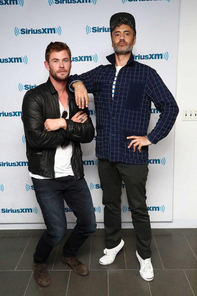 Chris Hemsworth at SiriusXM EW Spotlight in New York City-4