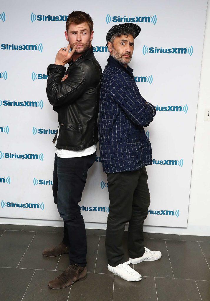 Chris Hemsworth at SiriusXM EW Spotlight in New York City-5