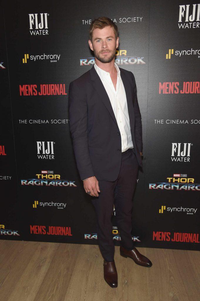 Chris Hemsworth at the Thor: Ragnarok Screening in New York City-2