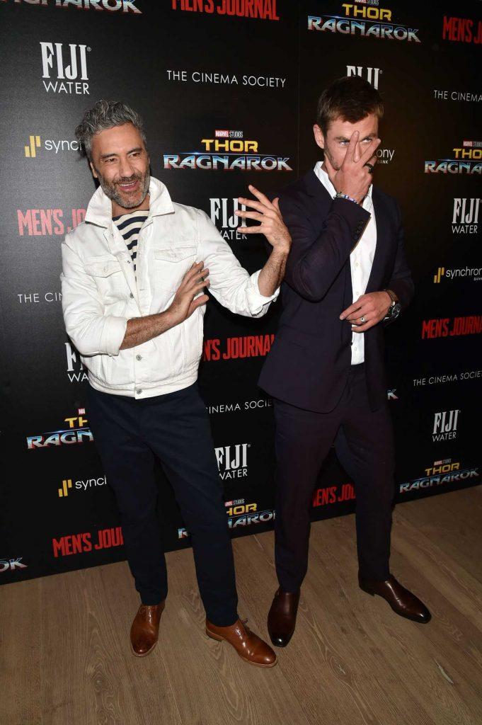 Chris Hemsworth at the Thor: Ragnarok Screening in New York City-4