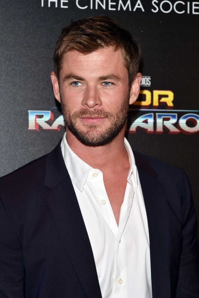 Chris Hemsworth at the Thor: Ragnarok Screening in New York City-5