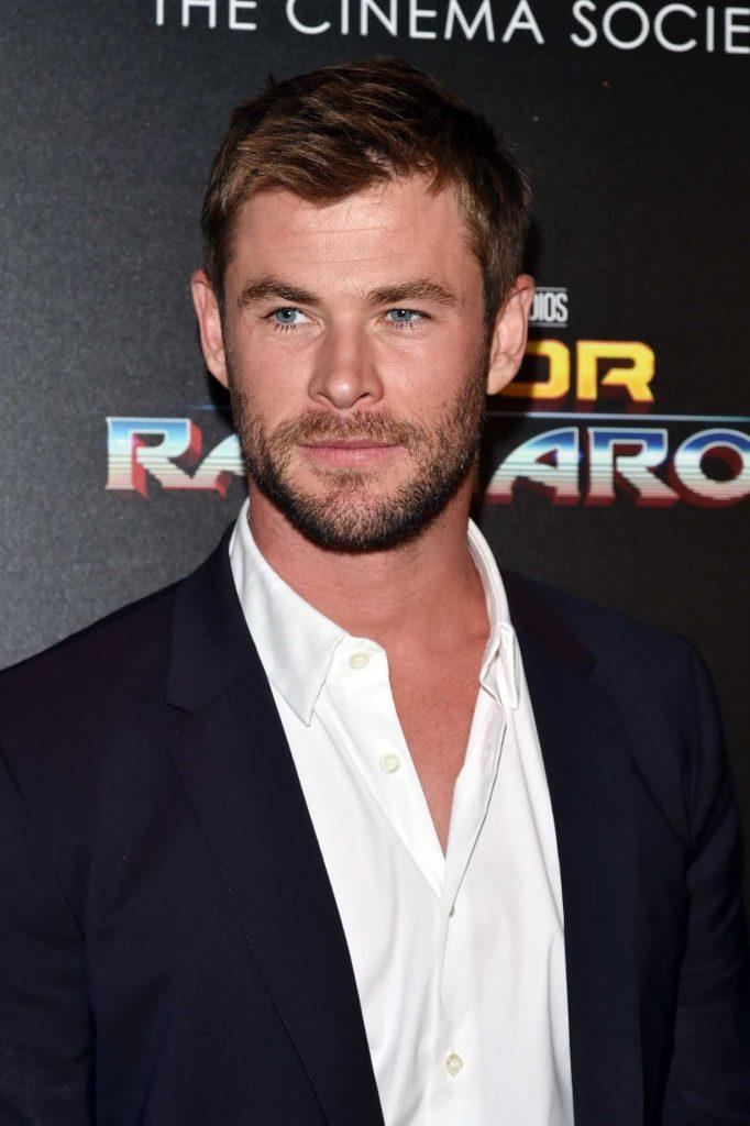 Chris Hemsworth at the Thor: Ragnarok Screening in New York City-5