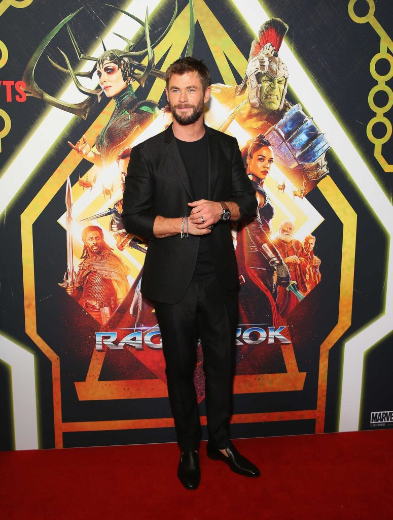 Chris Hemsworth at the Thor: Ragnarok Screening in Sydney-1