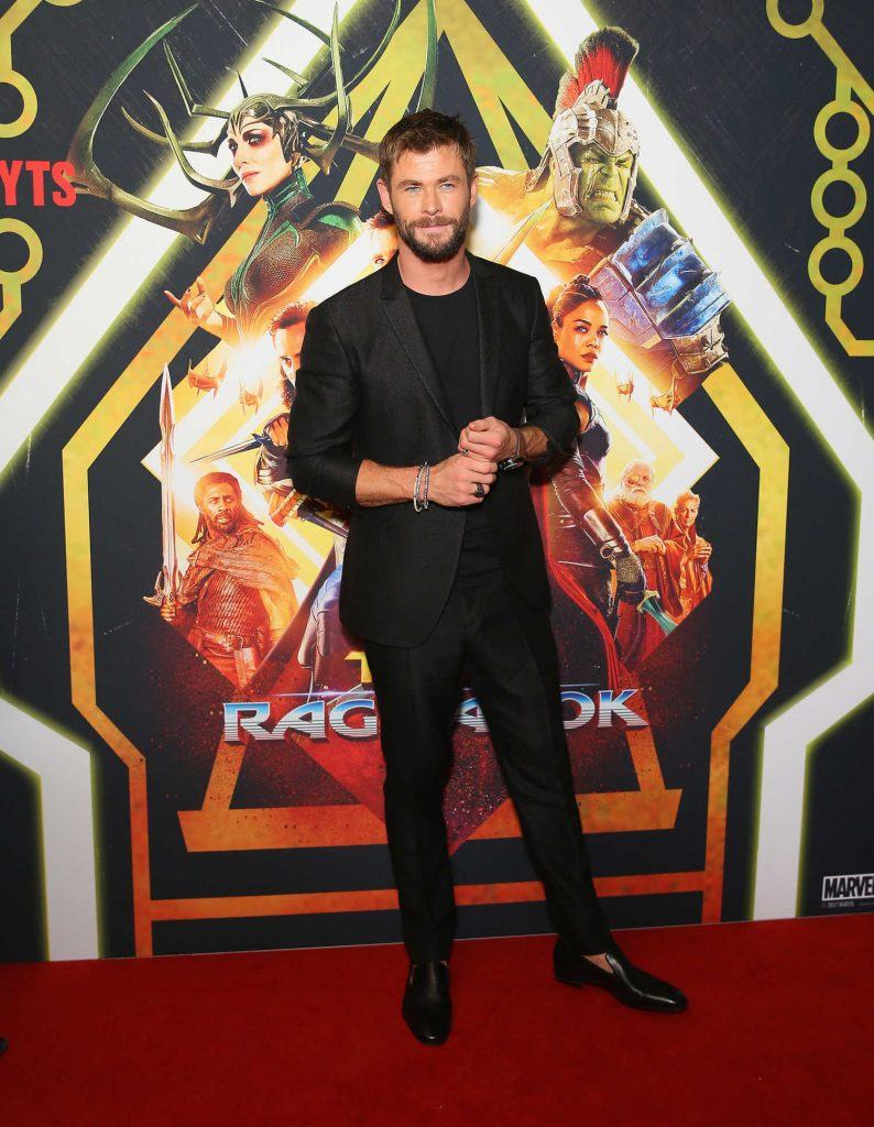 Chris Hemsworth at the Thor: Ragnarok Screening in Sydney-2