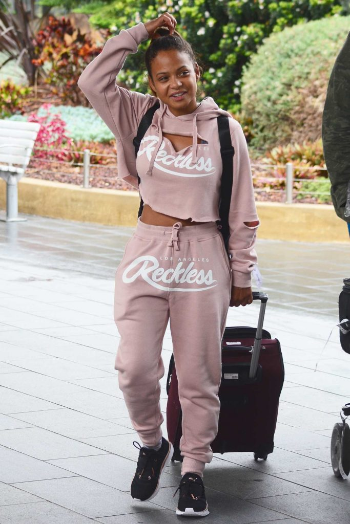 Christina Milian Arrives in Sydney-1