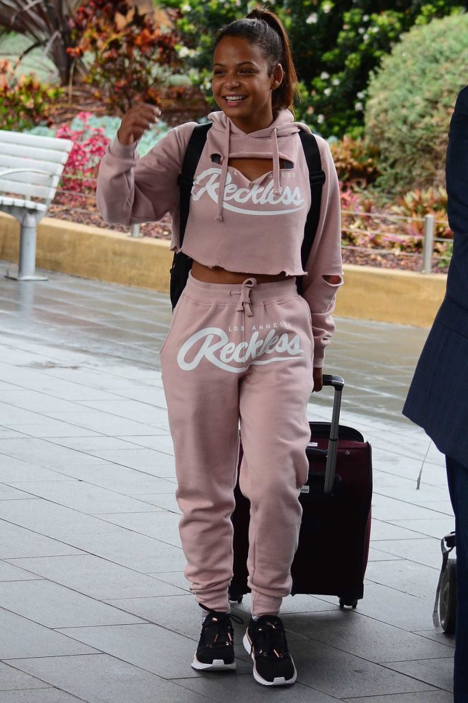 Christina Milian Arrives in Sydney-2