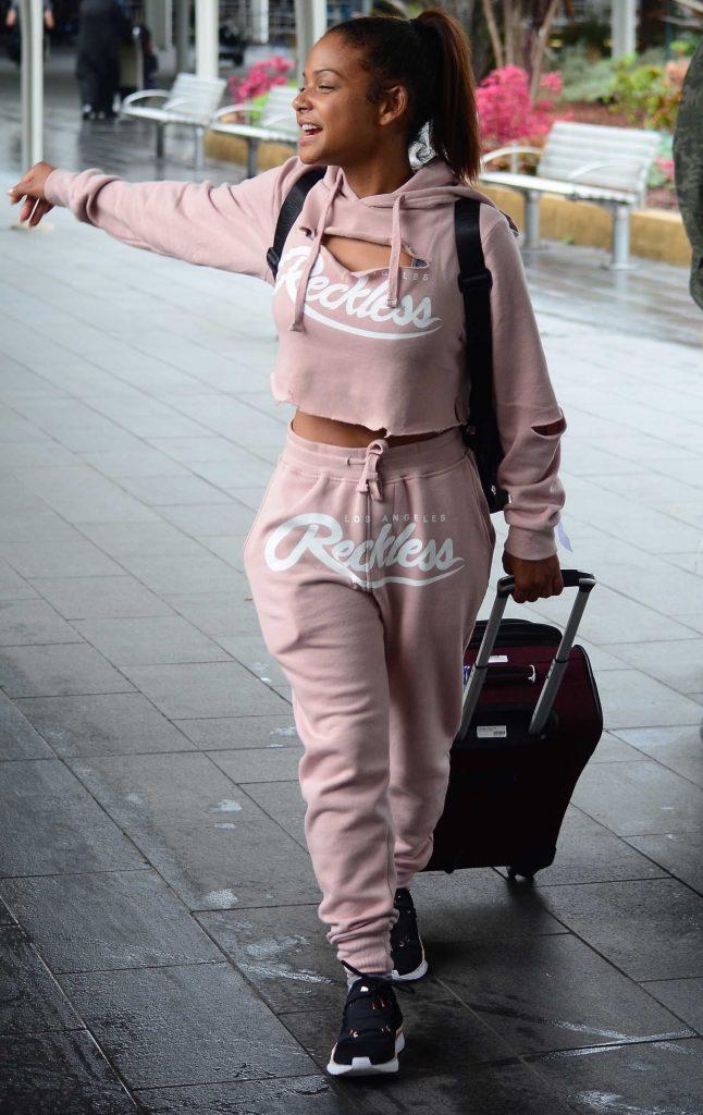 Christina Milian Arrives in Sydney-3