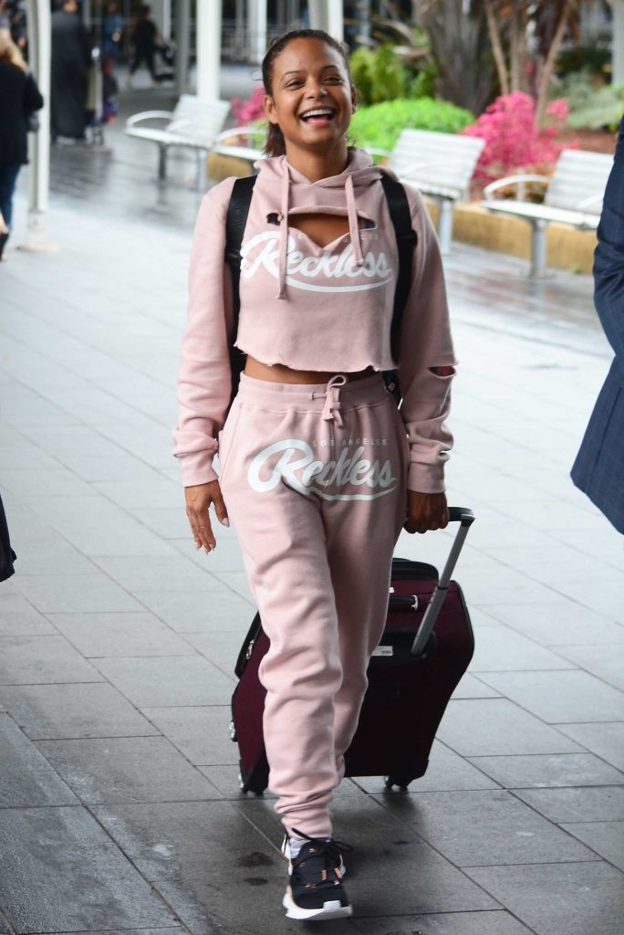 Christina Milian Arrives in Sydney-4