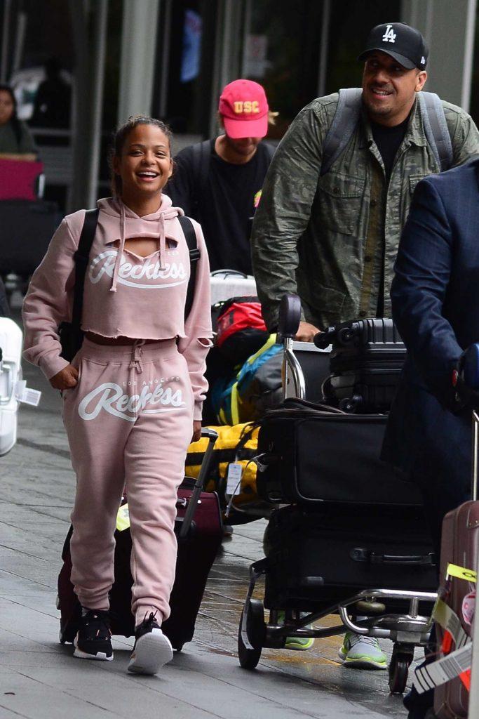 Christina Milian Arrives in Sydney-5