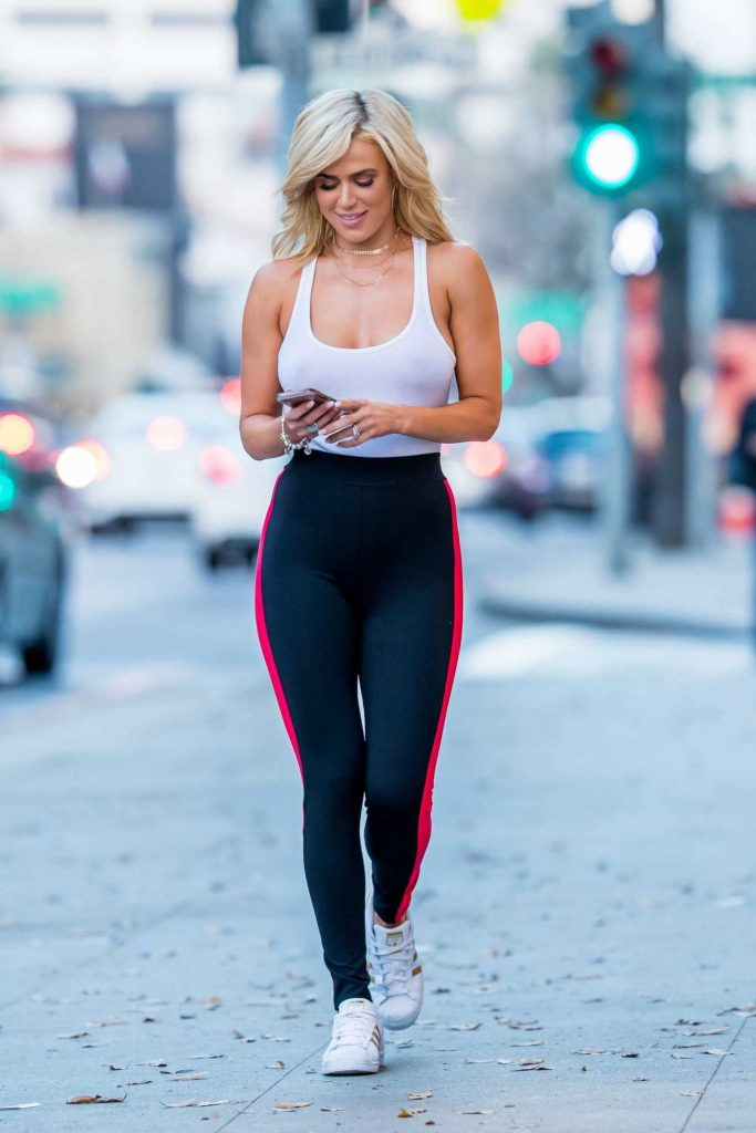 CJ Perry Wears a Tights Out in Beverly Hills-3