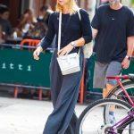 Claire Danes Walks Around SoHo in NYC