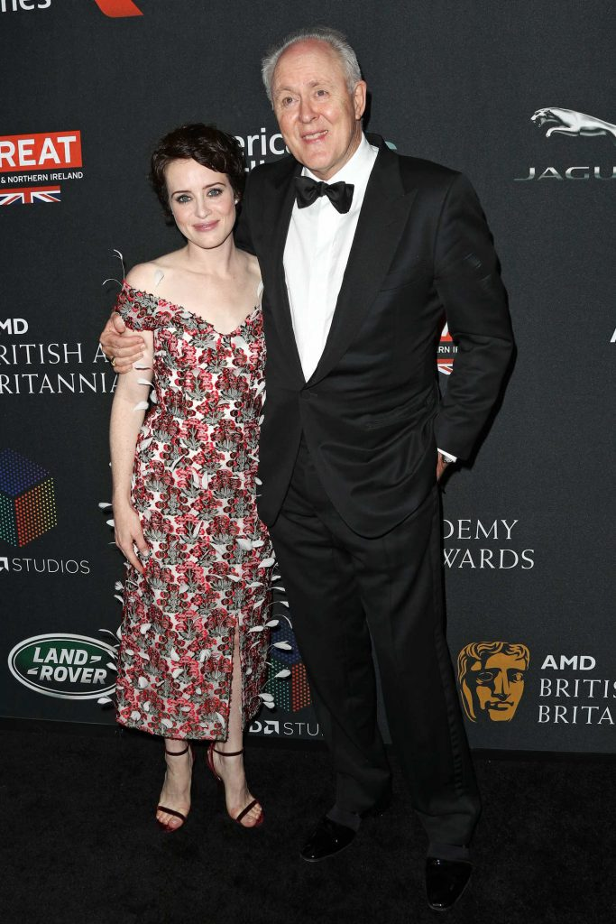 Claire Foy at 2017 AMD British Academy Britannia Awards in Beverly Hills-4