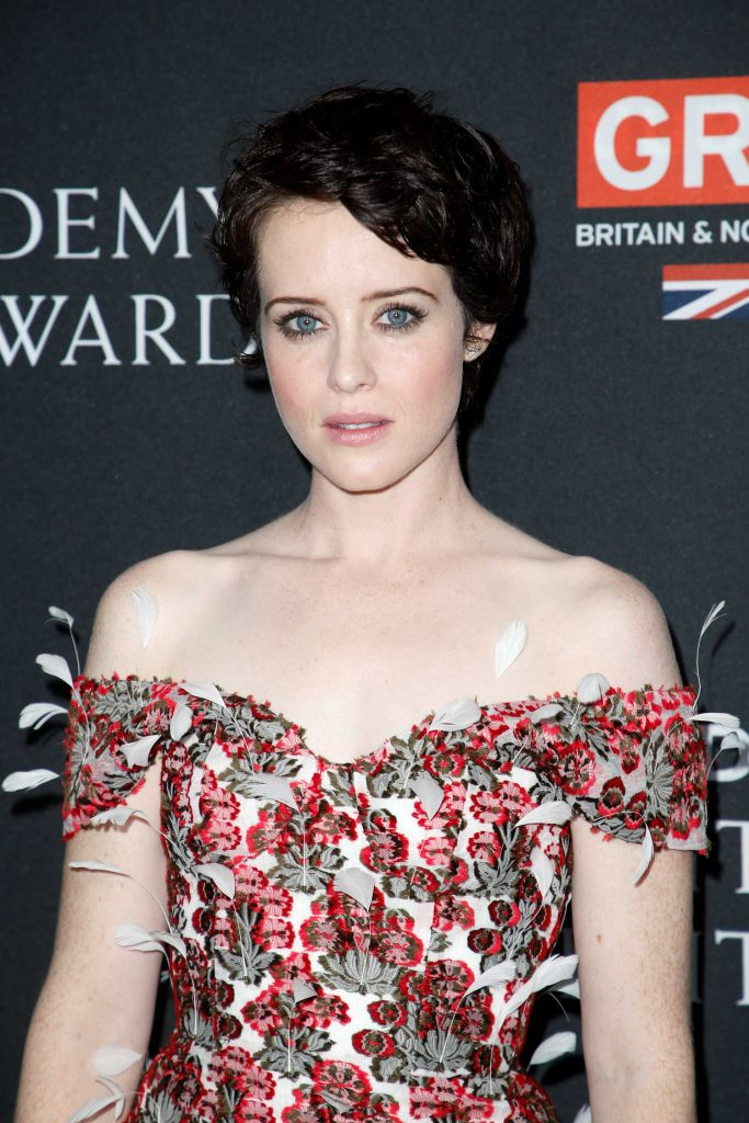 Claire Foy at 2017 AMD British Academy Britannia Awards in Beverly Hills-5