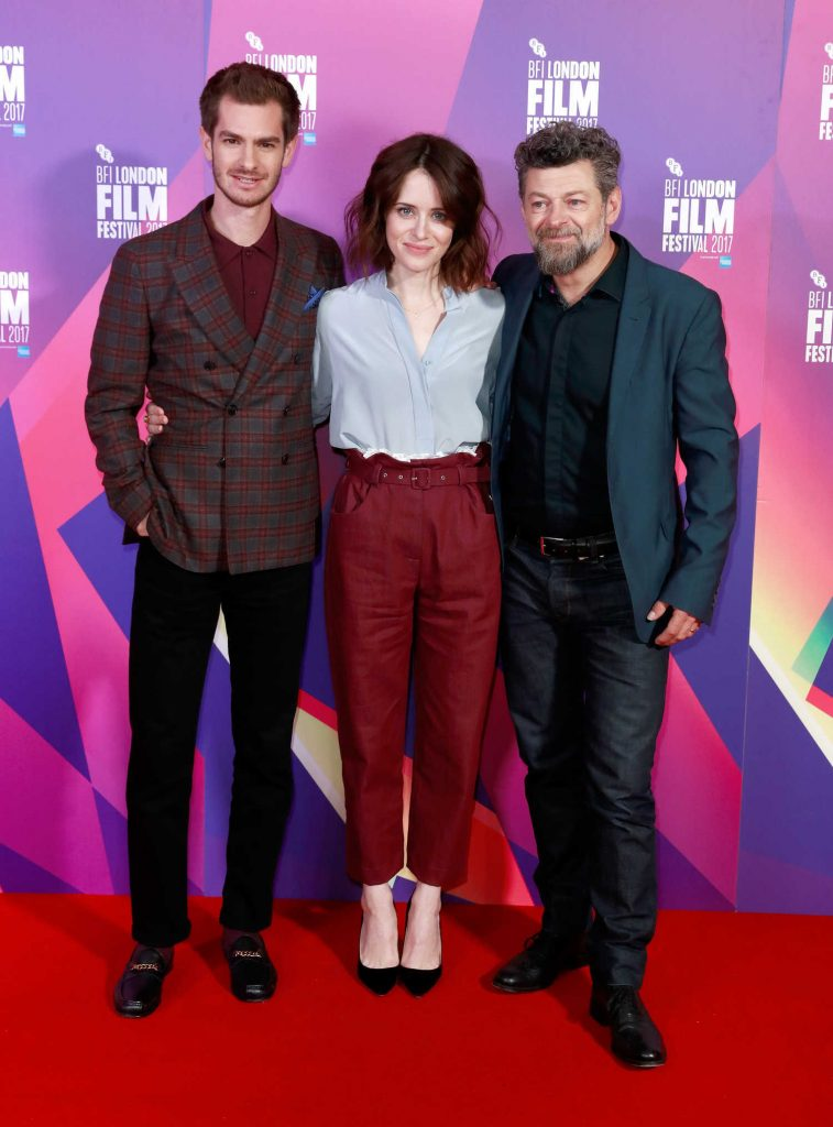 Claire Foy at the Breathe Photocall During the 61st BFI London Film Festival-4