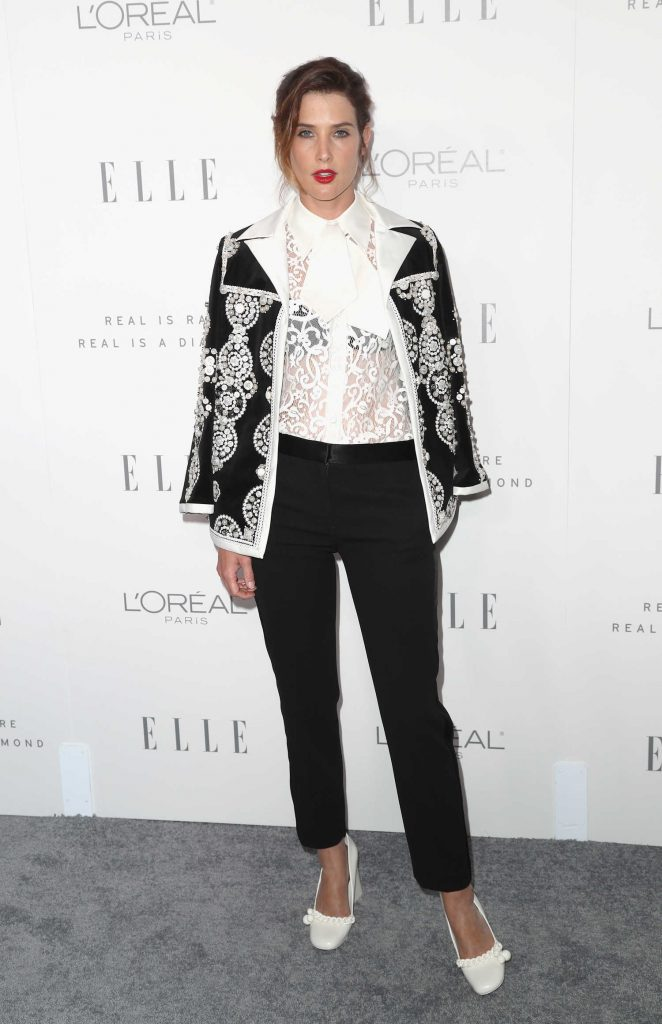 Cobie Smulders at ELLE's 24th Annual Women in Hollywood Celebration in Los Angeles-1