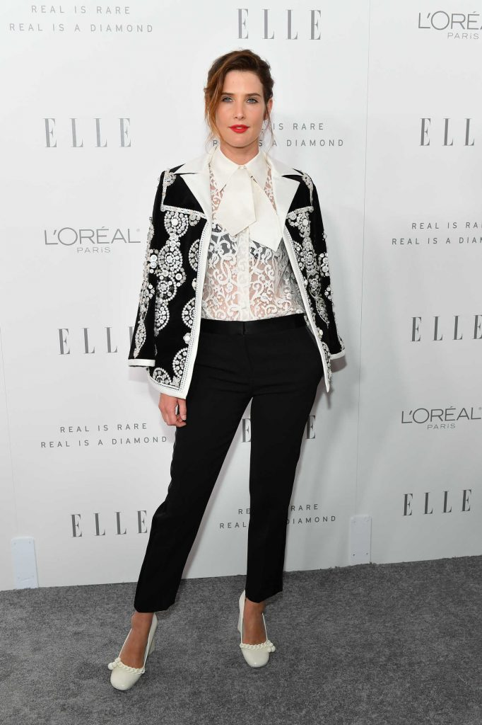 Cobie Smulders at ELLE's 24th Annual Women in Hollywood Celebration in Los Angeles-2