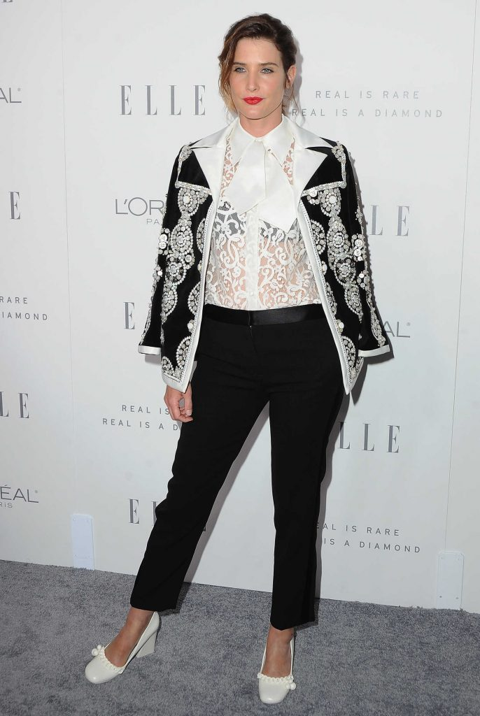 Cobie Smulders at ELLE's 24th Annual Women in Hollywood Celebration in Los Angeles-3