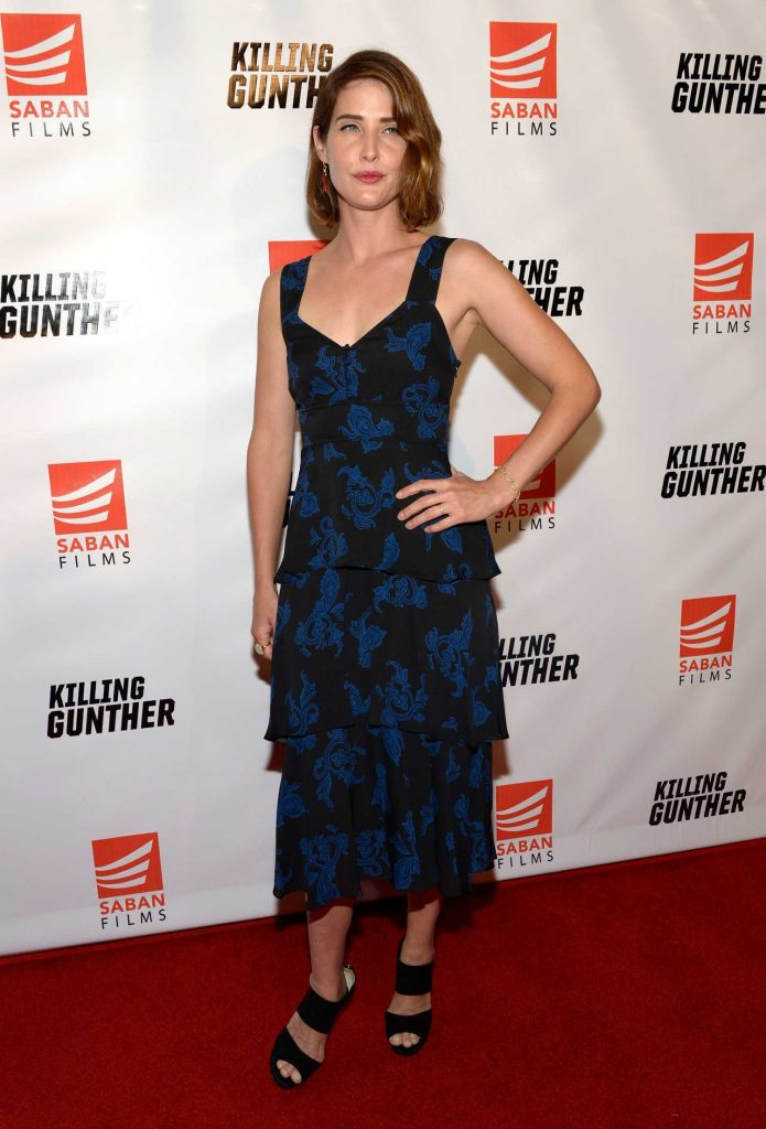 Cobie Smulders at the Killing Gunther Screening in Los Angeles-1