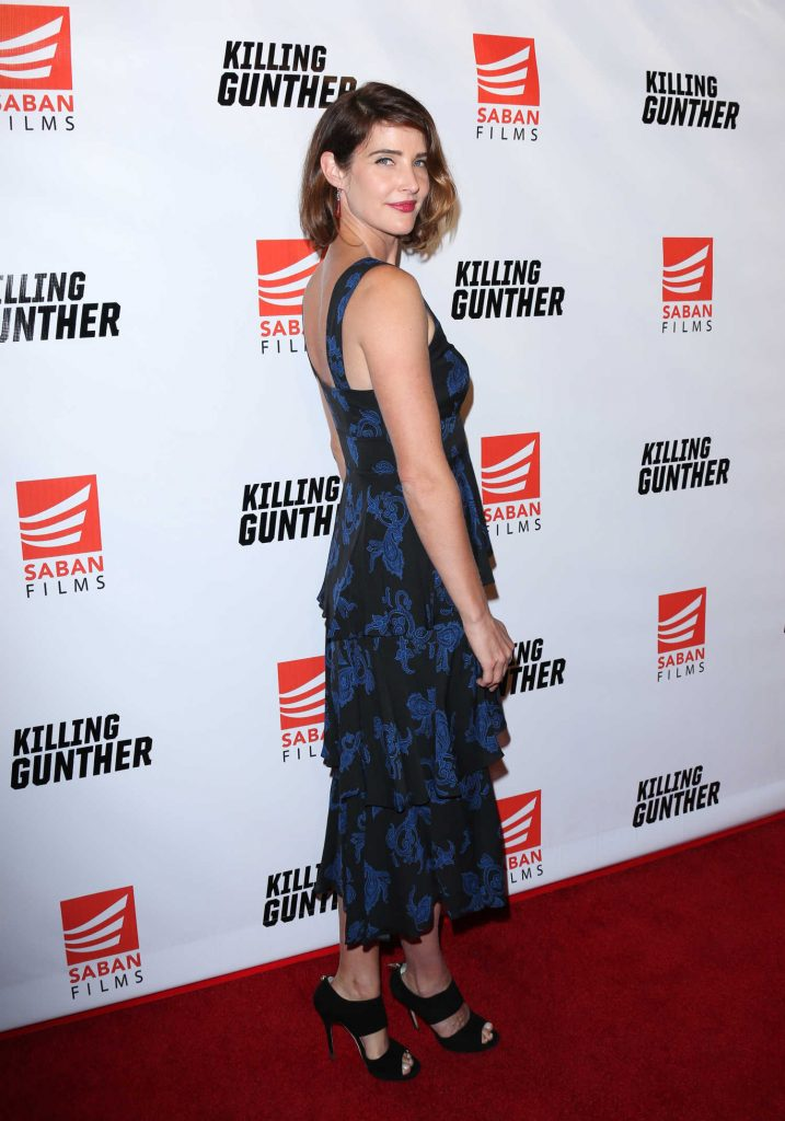 Cobie Smulders at the Killing Gunther Screening in Los Angeles-3