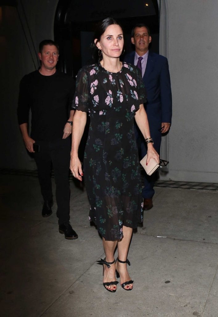 Courteney Cox Leaves Craig's Restaurant in LA-4
