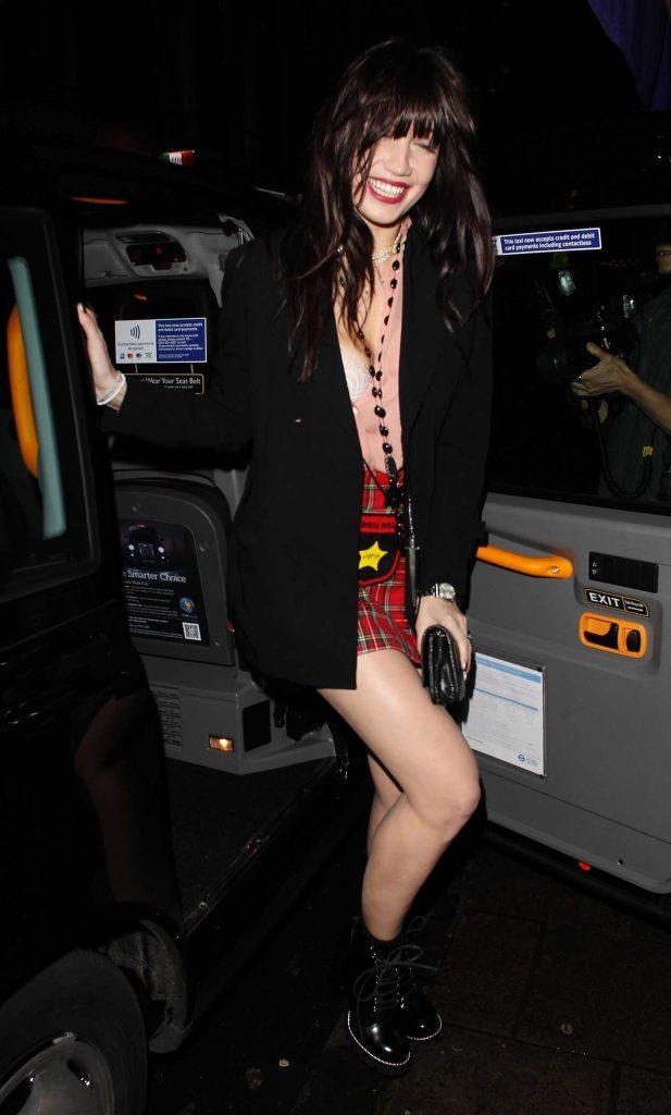 Daisy Lowe Arrives at La Bodega Negra in London-5