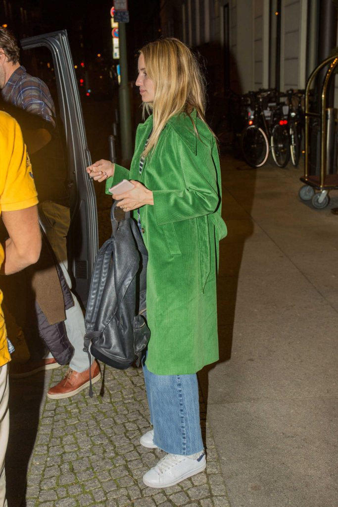 Dianna Agron Leaves the Titanic Hotel in Berlin-4