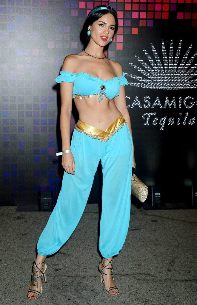 Eiza Gonzalez at the Tequila Casamigos Annual Halloween Bash in Los Angeles-3