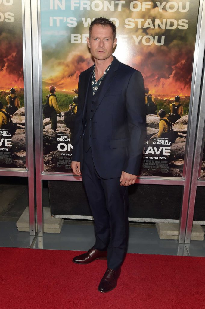 James Badge Dale at Only The Brave Screening in New York City-1