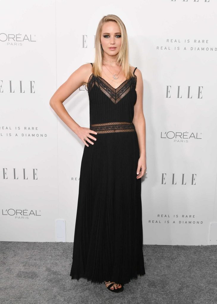 Jennifer Lawrence at ELLE's 24th Annual Women in Hollywood Celebration in Los Angeles-2