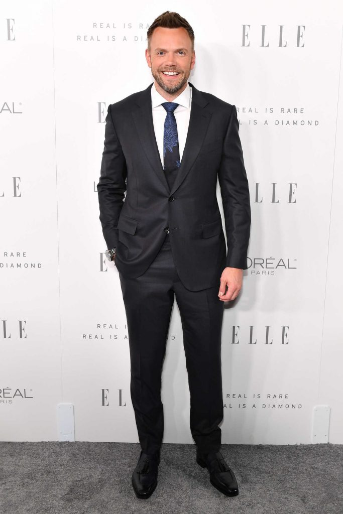 Joel McHale at ELLE's 24th Annual Women in Hollywood Celebration in Los Angeles-1