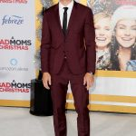 Justin Hartley at A Bad Mom's Christmas Premiere at the Regency Village Theatre in Westwood