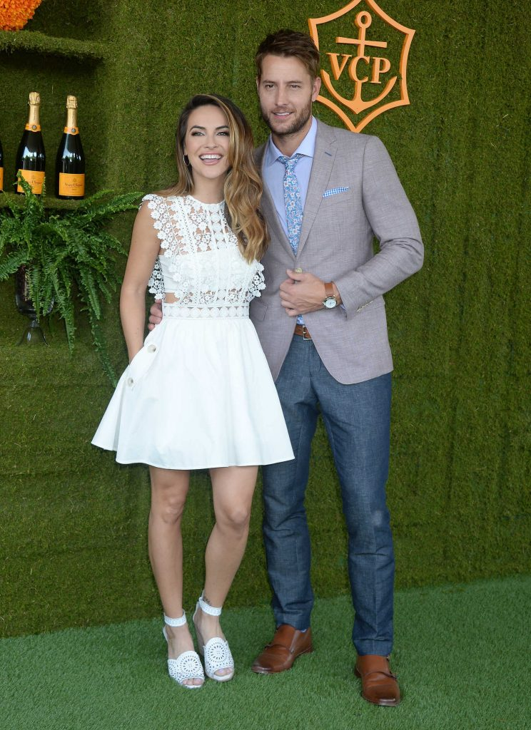 Justin Hartley at the Veuve Cliquot Polo Classic in LA-3