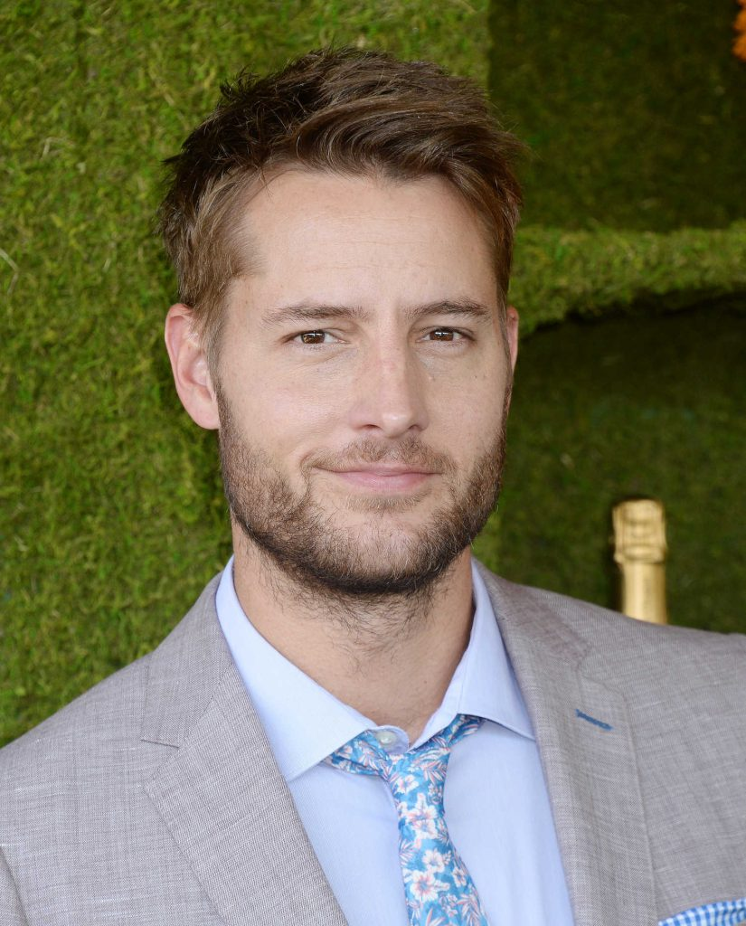 Justin Hartley at the Veuve Cliquot Polo Classic in LA-5