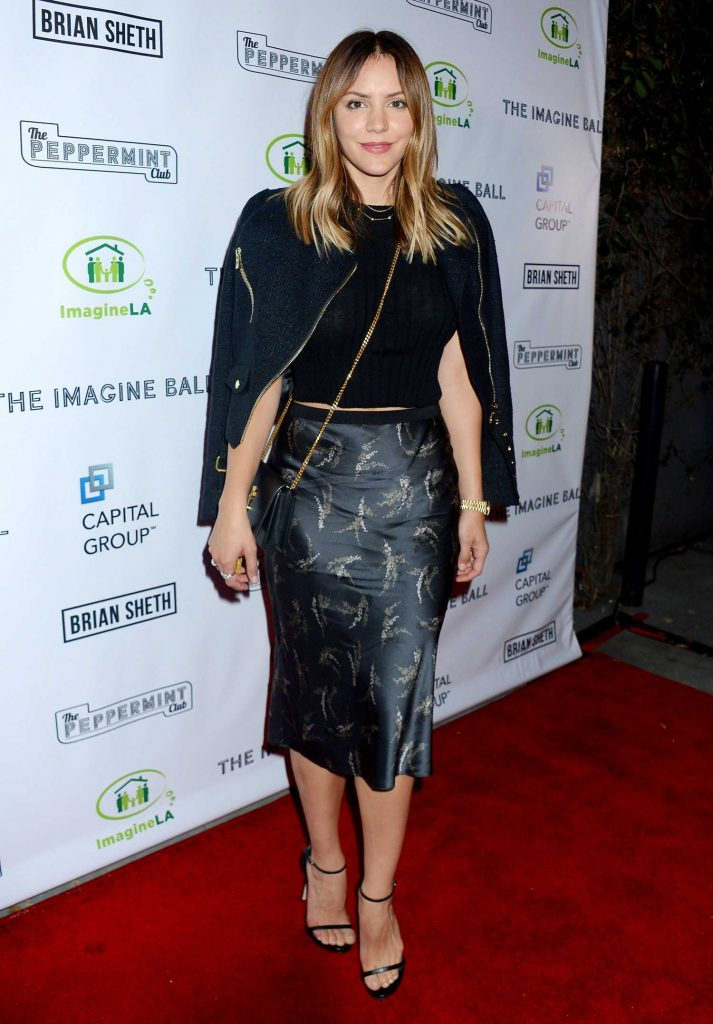 Katharine McPhee at the Imagine Ball at The Peppermint Club in Los Angeles-1