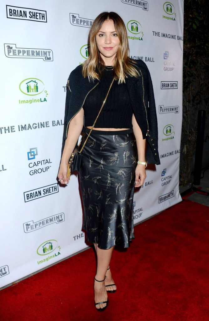 Katharine McPhee at the Imagine Ball at The Peppermint Club in Los Angeles-2