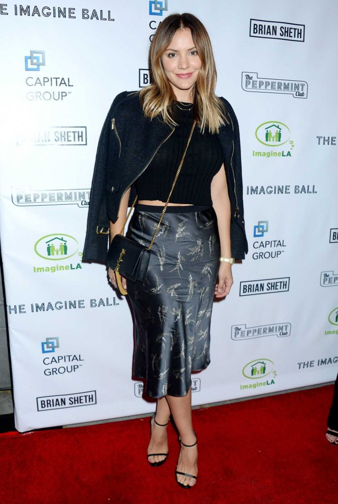 Katharine McPhee at the Imagine Ball at The Peppermint Club in Los Angeles-3