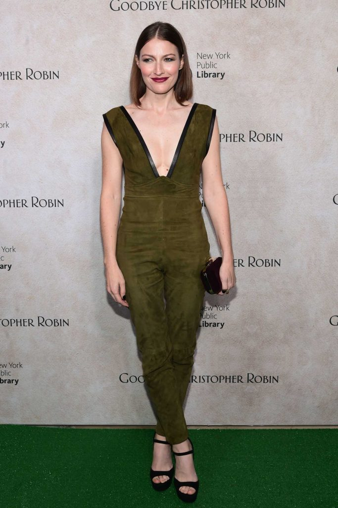 Kelly MacDonald at Goodbye Christopher Robin Special Screening in New York City-1