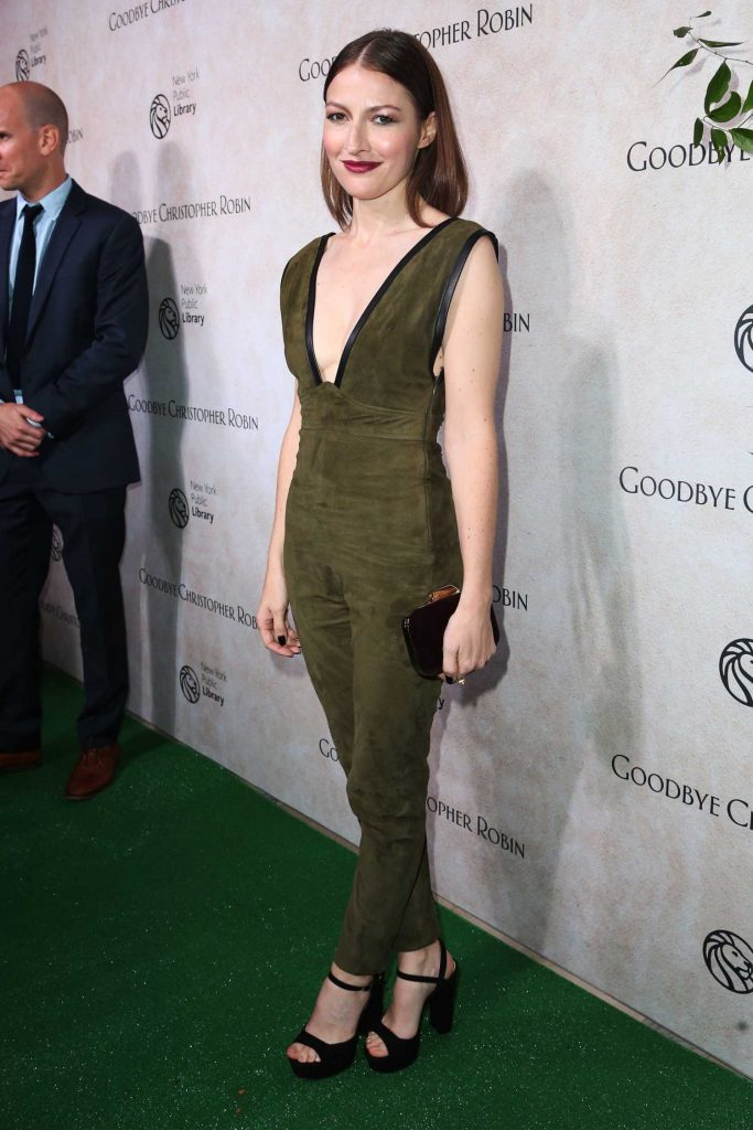 Kelly MacDonald at Goodbye Christopher Robin Special Screening in New York City-3