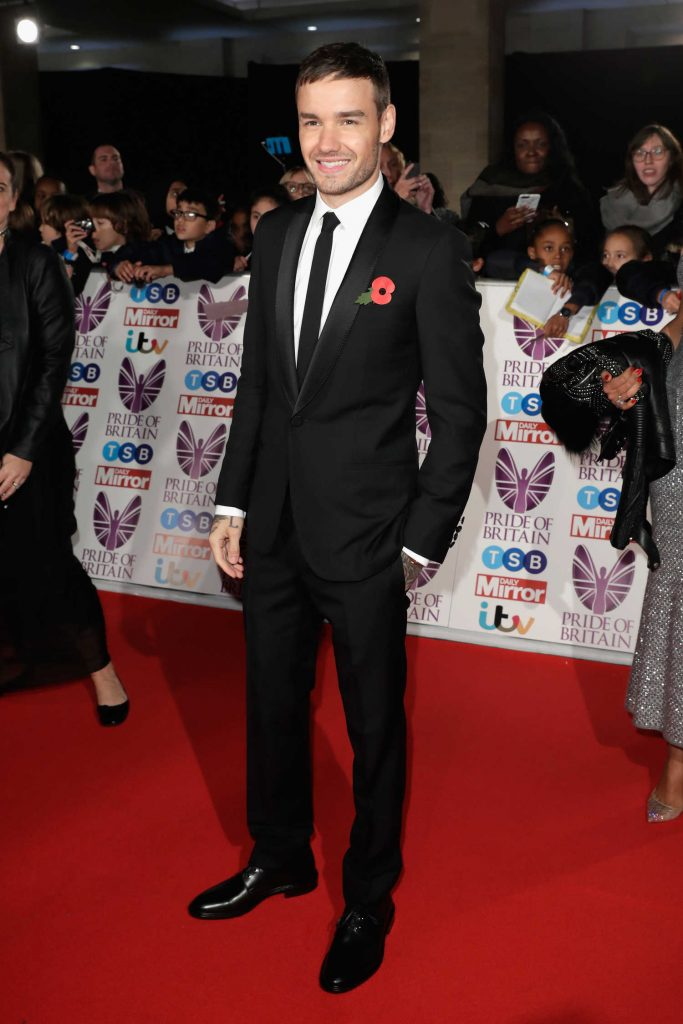 Liam Payne at the Pride of Britain Awards in London-1