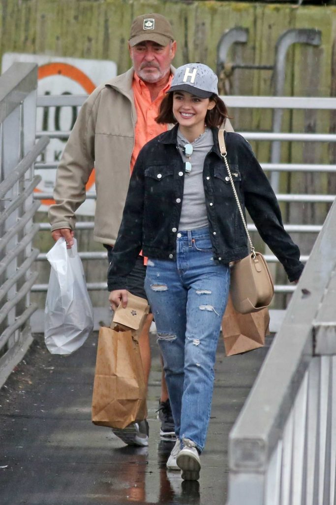 Lucy Hale Was Seen Out in Vancouver 10/01/2017-1