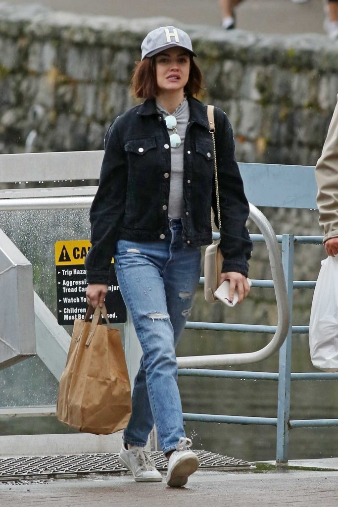 Lucy Hale Was Seen Out in Vancouver 10/01/2017-4
