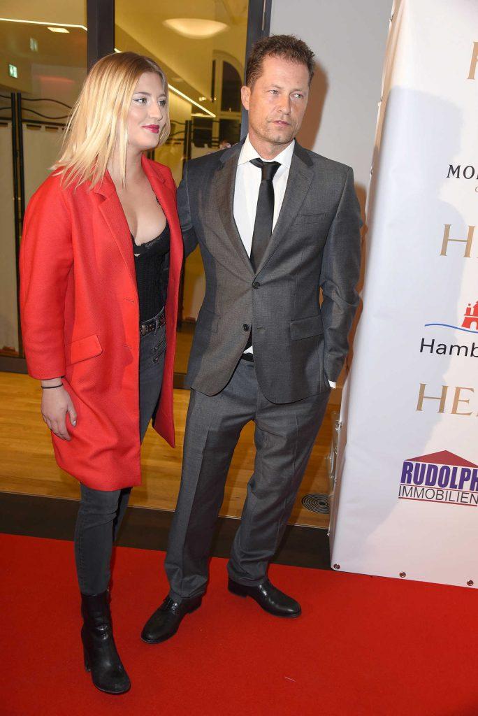 Luna Schweiger at the 2017 German Boxing Awards in Hamburg-3