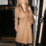 Natalie Dormer Leaves the Royal Haymarket Theatre in London