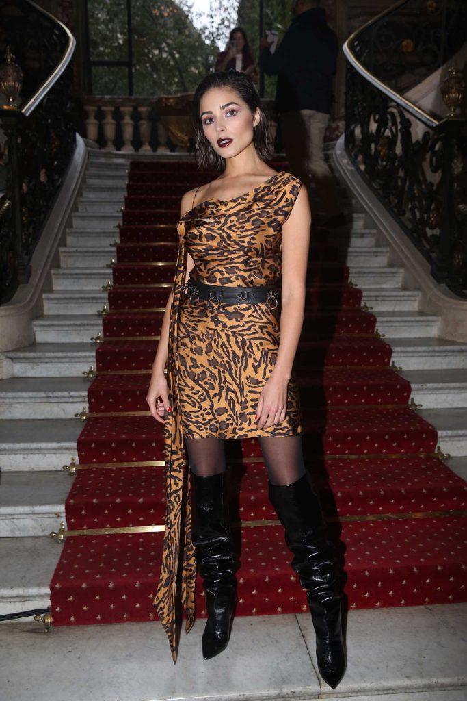 Olivia Culpo Attends John Galliano Fashion Show During Paris Fashion Week-3