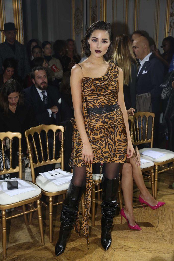 Olivia Culpo Attends John Galliano Fashion Show During Paris Fashion Week-4